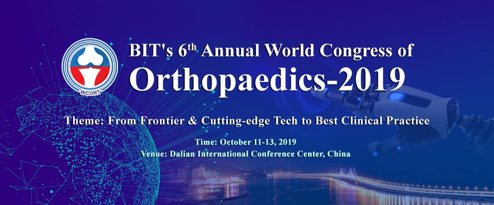 BIT's 6th Annual World Congress of Orthopaedics-2018