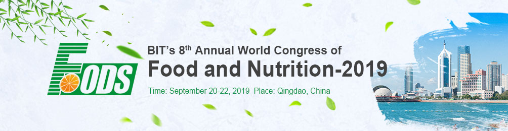 BIT's 8th Annual World Congress of Food and Nutrition-2019